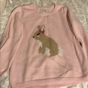 Easter Bunny Sweater size 4t